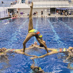 U.S. Women's Senior National Synchronized Swimming Team
