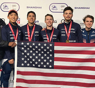 5,000-Meter Men's Relay