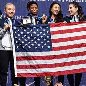 U.S. Women's Foil Team