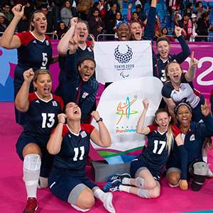 U.S. Parapan American Women's Sitting Volleyball Team