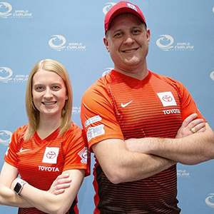 U.S. Mixed Doubles Team