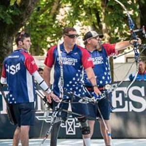 U.S. Men's World Championship Recurve Open Team