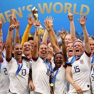U.S. Women's World Cup Soccer Team