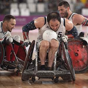 U.S. Parapan American Wheelchair Rugby Team