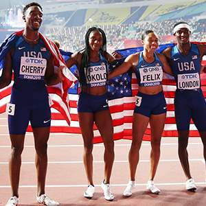 U.S. Mixed 4x400-meter Team