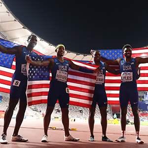 U.S. Men's 4x100-meter Team