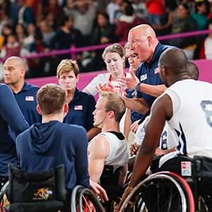 U.S. Parapan American Men's Wheelchair Basketball Team