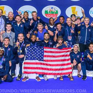U.S. Men's Freestyle World Championship Team