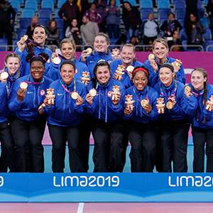 U.S. Women's Sitting Volleyball Team
