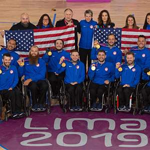 U.S. Wheelchair Rugby Quad Nations Tournament Team